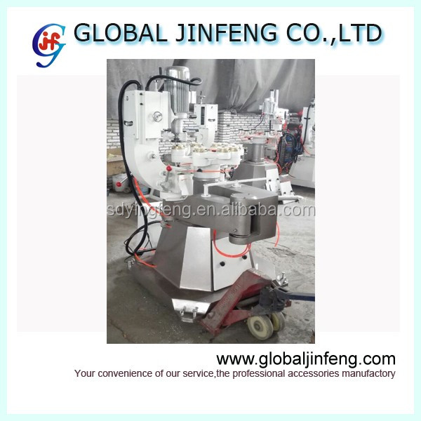 JFS151 Multi-function glass various shapes wet grinding and polishing machine