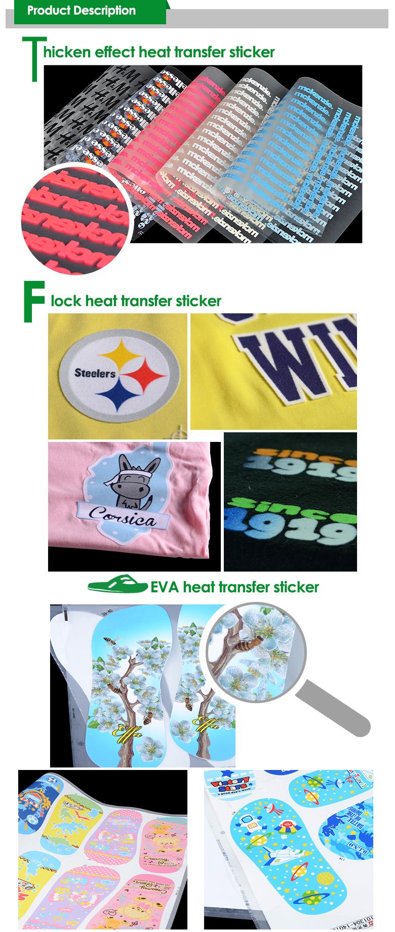 how to make heat transfer sticker