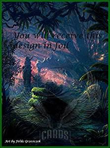 1x Plains #1 Extended Textless Full Art Custom Altered Basic Land MTG