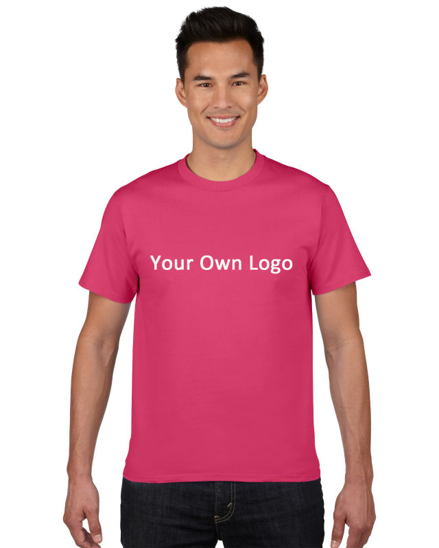 No Minimum High Quality Custom T-shirt With Your Own Design