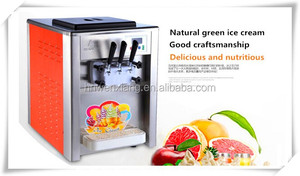 soft ice cream machine with LCD Screen / soft ice cream machine Israel price