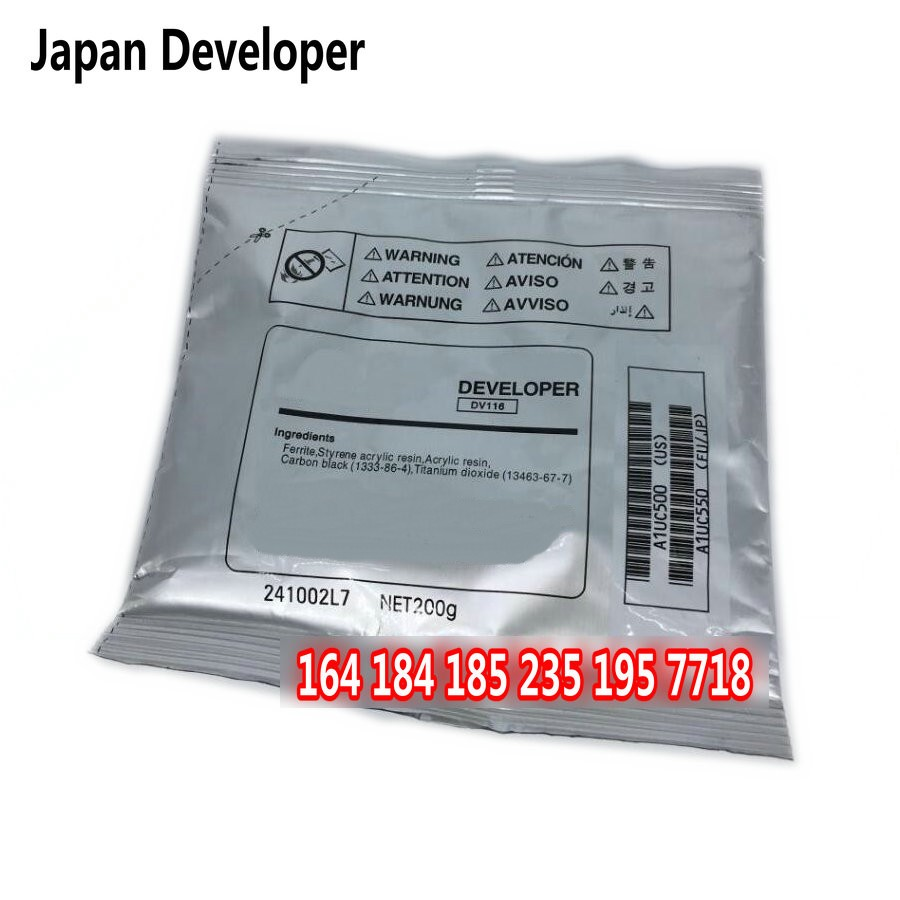 Compatible developer for Konica Minolta Bizhub 164 184 DV116 toner