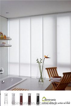Bintronic Panel Track System With Motor Of Room Divider Curtain