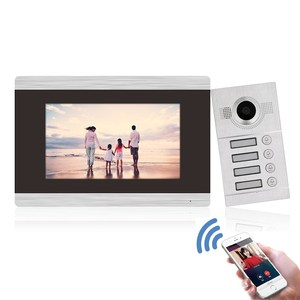 Bcomtech WIFI 4 apartment TCP IP SIP smartphone apartment video intercom