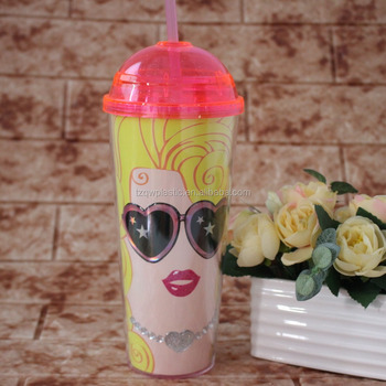 9a6cdcf1174 22oz Double-wall Acrylic Dome Top Tumbler Cup With Lid Straw - Buy ...
