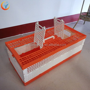 Plastic pigeon Chicken Transport Cage Box pigeon trap cage