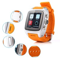 China Manufacturer oem,Camera GPS SIM 3G, Bluetooth Android 4.4.2 wear smartwatch wifi