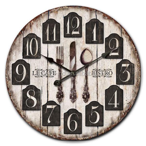 Arti e mestieri di legno vecchio stile orologi da parete for Case in stile arti e mestieri