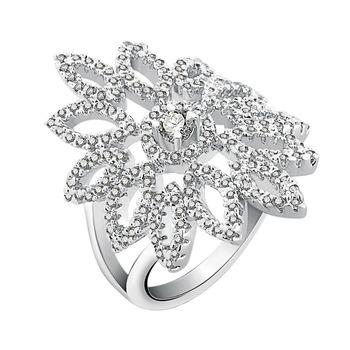Trend 2018 Latest Gold Silver Finger Ring Design Diamond Engagement