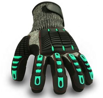 High Impact Protective HPPE Knitted TPR Gloves Premium Cut Gloves