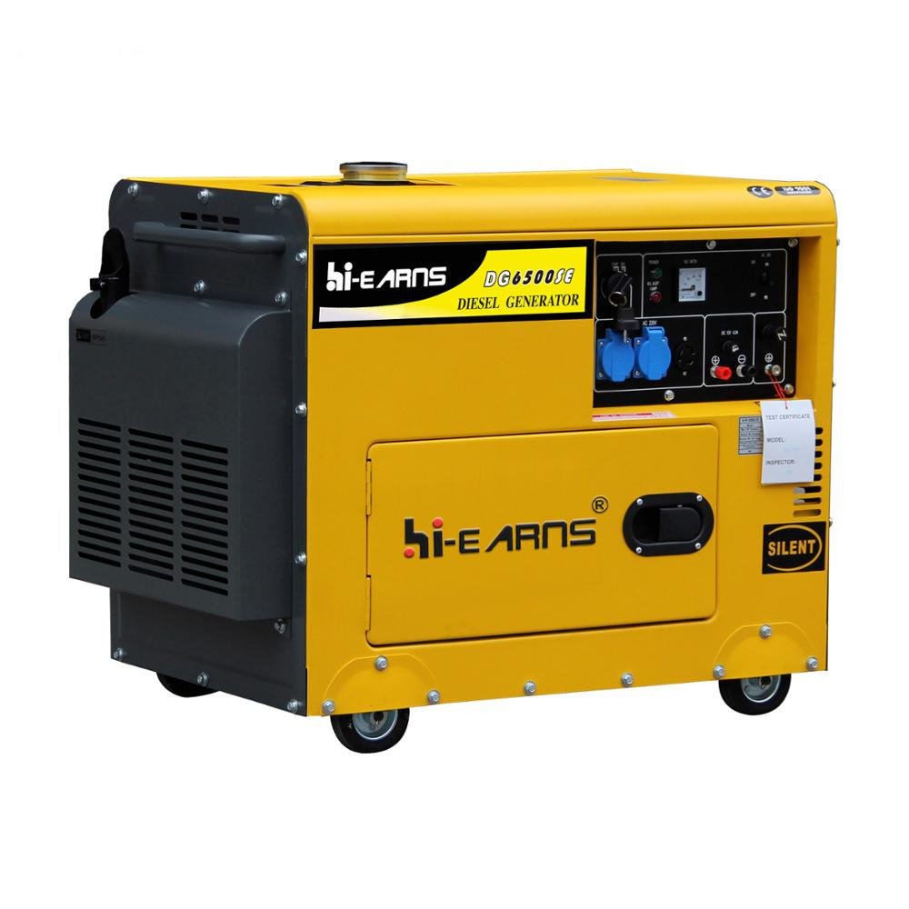 5kva portable silent <strong>diesel</strong> generator price