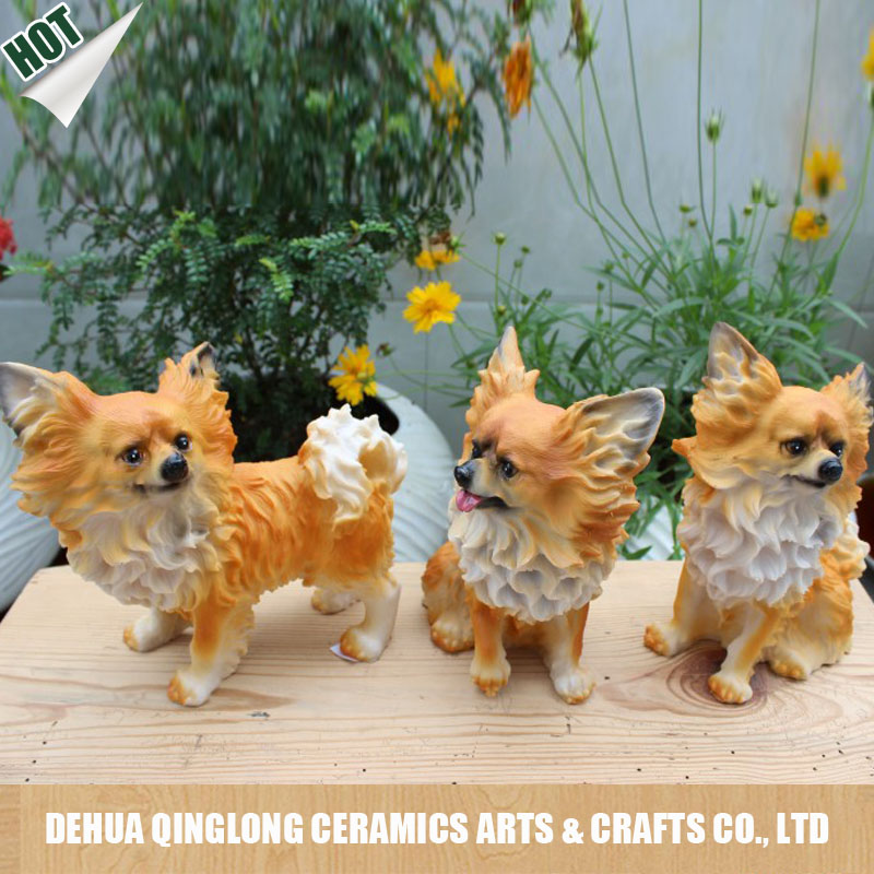 Cute Resin Dog statue for Home Decoration <strong>crafts</strong>