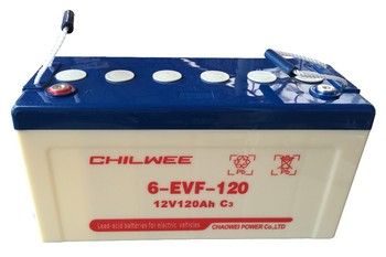 Chilwee Brand Electric Vehicle Battery 12v 120ah 60222735896 on images power ist vehicle battery