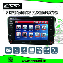 Hot selling 7 inch touch screen car audio system for vw polo
