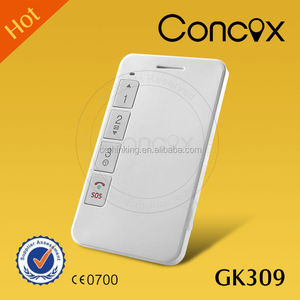CONCOX User friendly White GPS student position monitor with white list 15 numbers Human tracking device