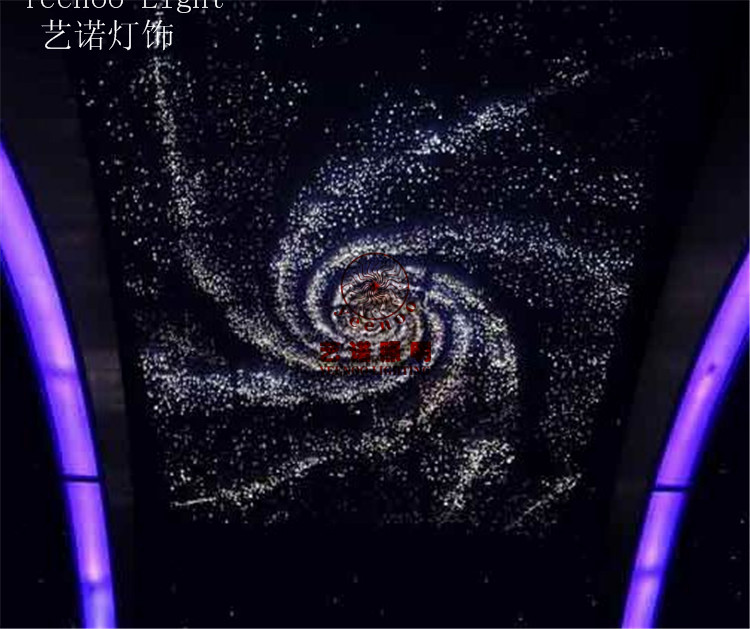 DIY Beautiful Ceiling Decorative LED Optical Fiber Sky Star Suction Top Lights Ceiling Light