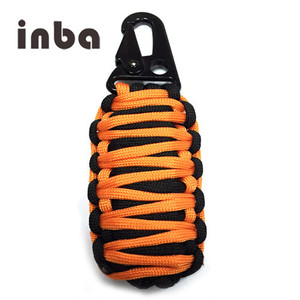 Inba Best Paracord Survival Keychain Kit Fishing Bag tool For Emergency Situations