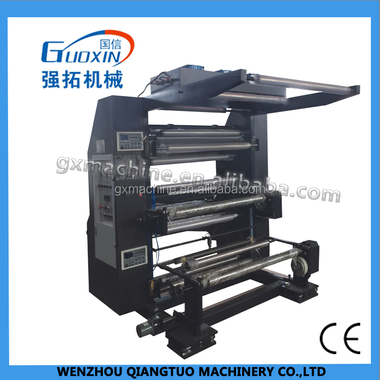 YT QTL model single/ one color two color flexo printing machine