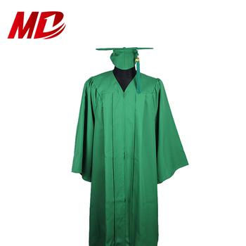 623783f0f3061 Kolej/okul Orman Yeşil Mat Mezuniyet Elbisesi Kap Ve Püskül - Buy ...