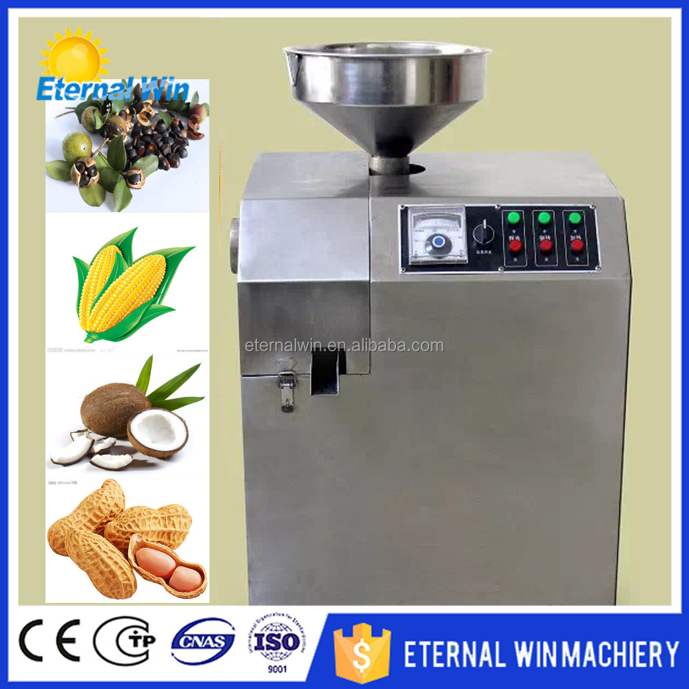 Fully automatic soya oil pressure machine / canola oil expeller