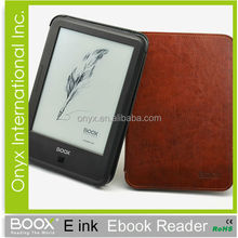 electronic quran book on 6 inch e-ink ebook reader capacitive touch android 2.3