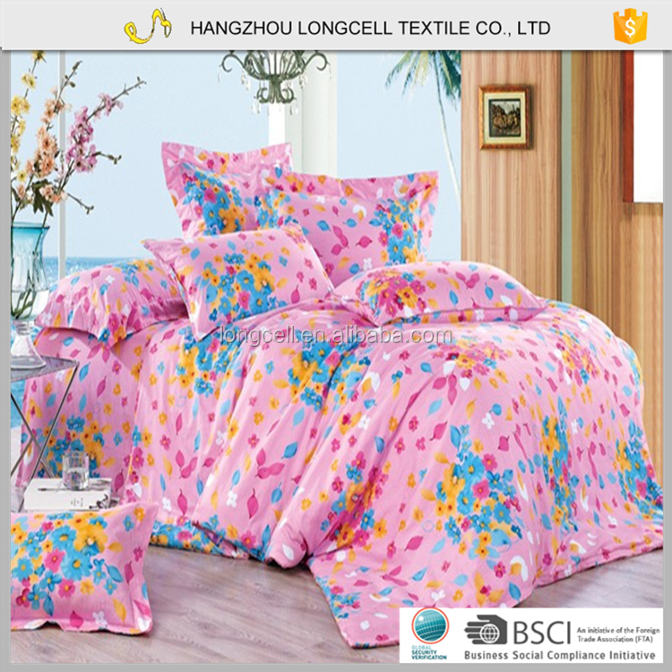 Chinese world sheets bag room bed sheets bedding set