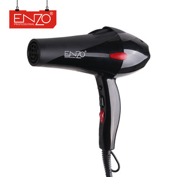 ENZO Professional 2 speed 3 heat barber salon equipment less damage fast drying natural hanging tourmaline ceramic hair dryer