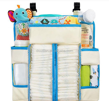 Large Durable Nursery Organizer Baby Hanging Diaper Organizer