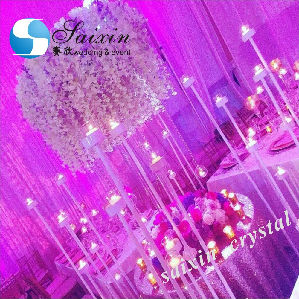 Beautiful Floor Candle Stand Decoration Wedding Events - Buy Events ...