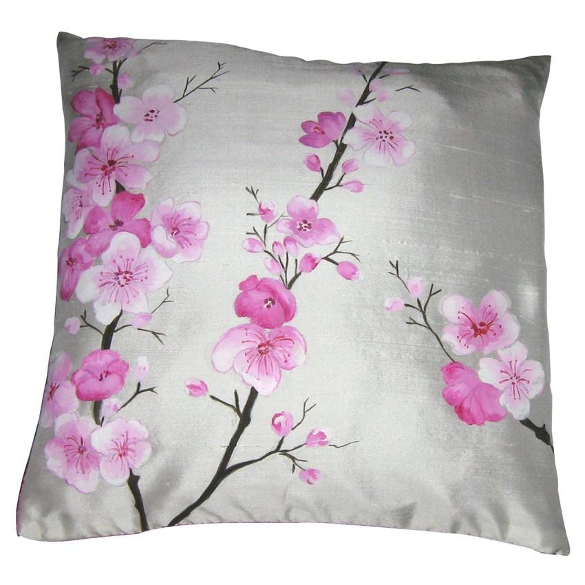 Cinta Floral Cojín Bordado Cubre Diseño,Cojín Patrón De Diseño ...