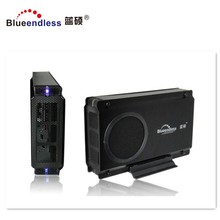 SuperSpeed 3.5 Inch SATA lan <span class=keywords><strong>HDD</strong></span> Behuizing caddy Met Koelventilator