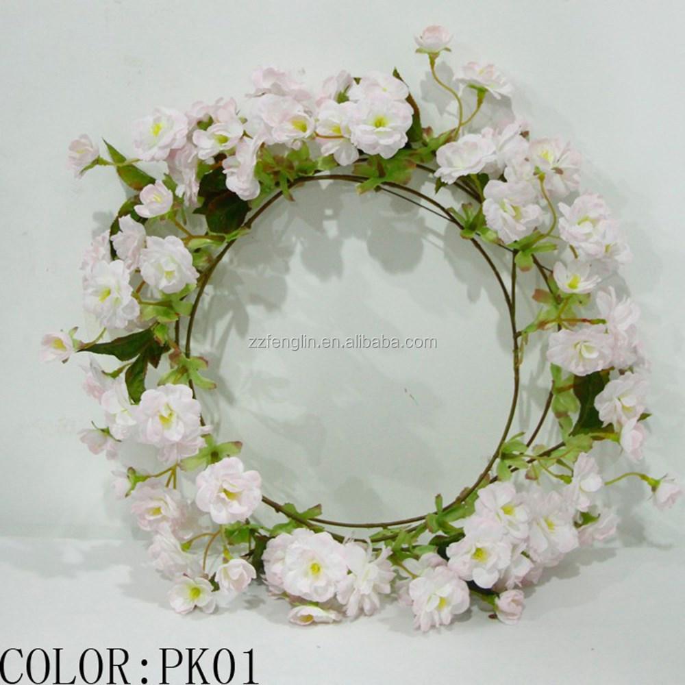 56 Ft Artificial Cherry Blossom Garland Fake Vine High Quality