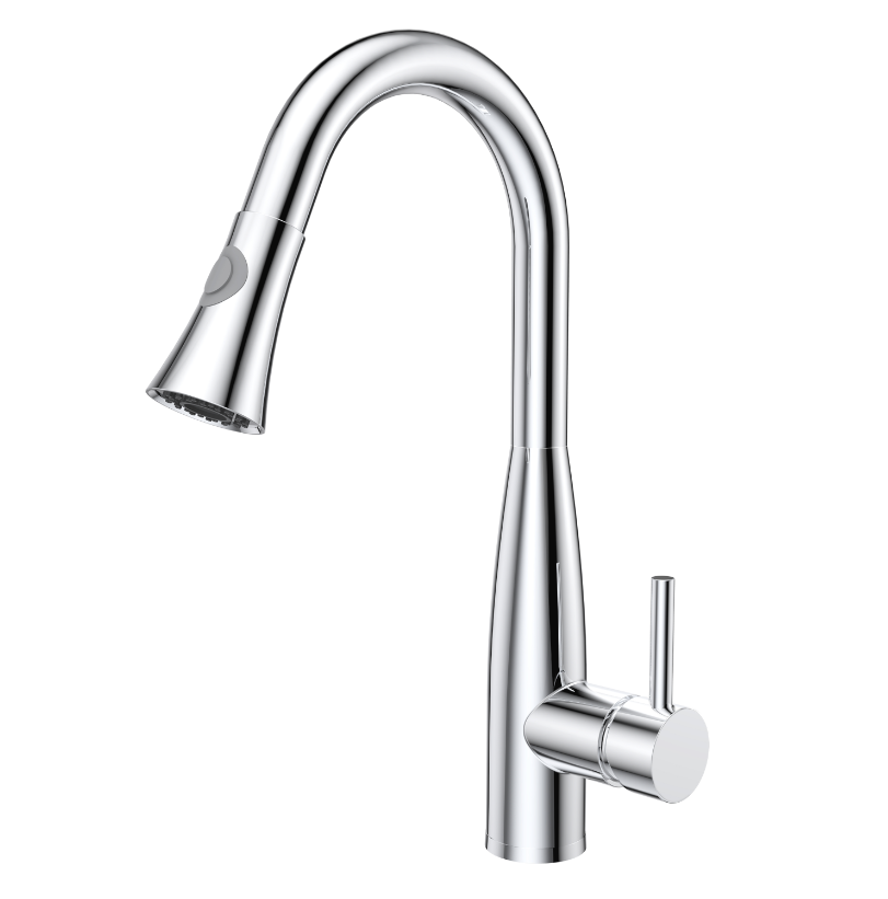 High End Luxury Solid Brass Touch Sensor Kitchen Sink Water Tap ...