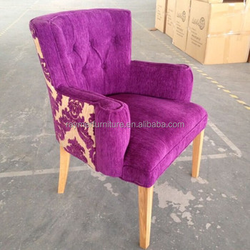 2015 New Design Luxury Velvet Tufted Dining Room/cafe Shop Chairs ...