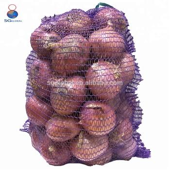 Whole Customized 50 Lb Mesh Onion Bag