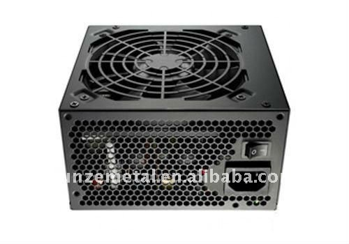 with power supply fan case