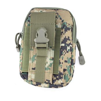 8baf650b6dd Táctico Molle bolsa EDC de Gadget cinturón de cintura bolsa con funda de  teléfono celular para