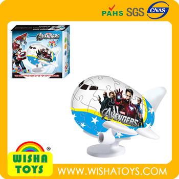 Vente Chaude Super Avion Style Beau Dessin Animé 3d Puzzle Jouets Pour Les Enfants Buy Product On Alibabacom