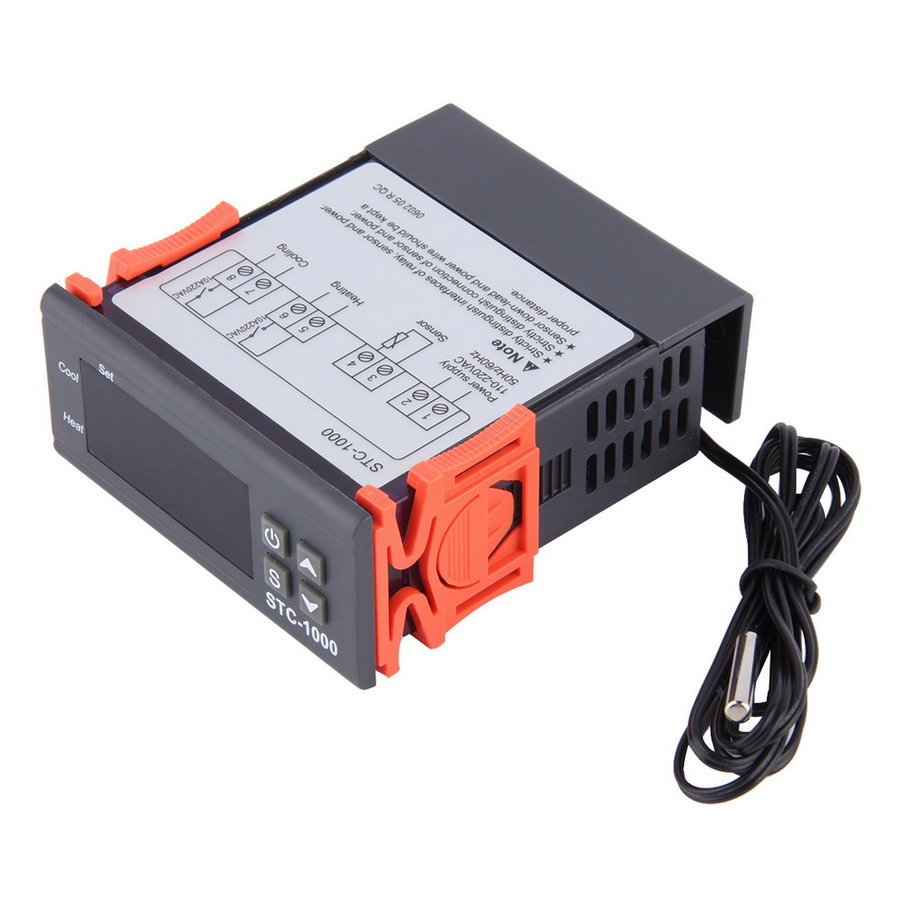 Cheap Stc 1000 Temperature Controller Find How To Wire The Youtube Get Quotations Top Quality1 Pc Thermostat Aquarium Stc1000 Incubator Cold Chain Temp