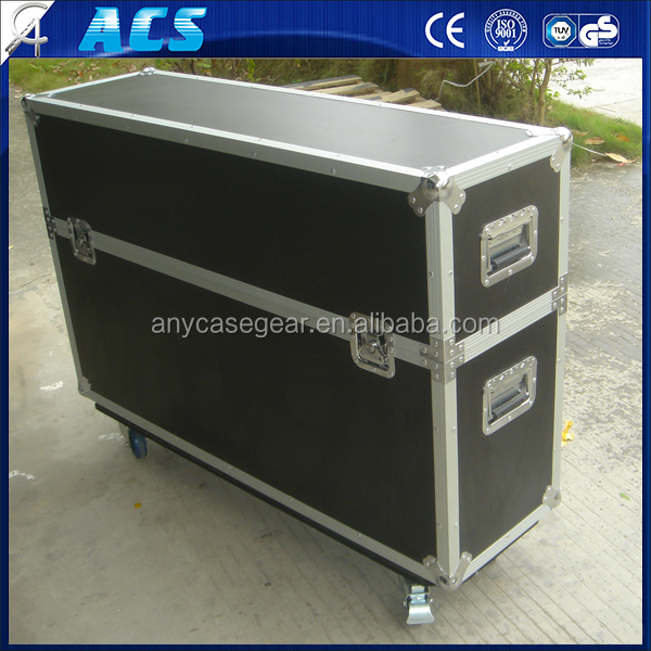 Acs Best Selling Led Plasma Case Tv Flight Case With Casters