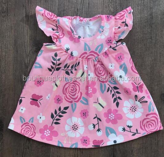 225654955ac17 2018 kids best sellers girls baseball ruffle dress flutter sleeve dresses  summer clothes for children, View 2018 girls baseball ruffle dress, MF ...
