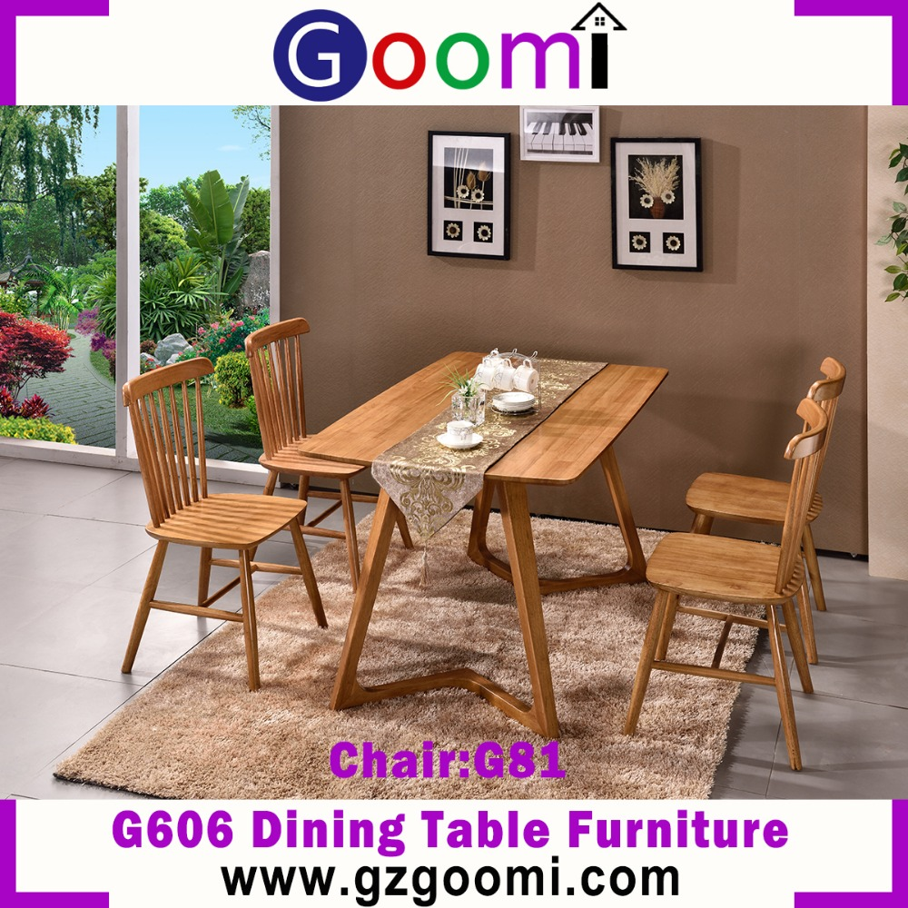 Goomi High Quality Dining Room Furniture G606# Dining Table with dining chairs