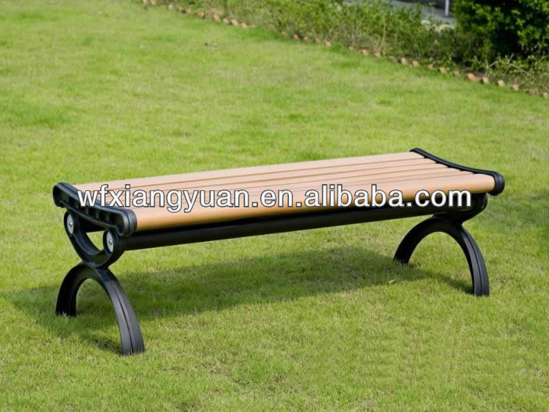 wood and plastic composite wpc outdoor bench
