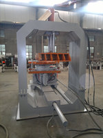 Jolt Squeeze Molding Machine, Foundry Semi-Automatic Molding Machine, Clay/Green Sand Casting Molding
