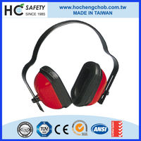 A606 red colour ear cups sound proof safety earmuffs for children