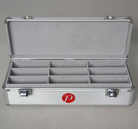 Aluminum Eyeglass Carrying Display Case for 18 glasses
