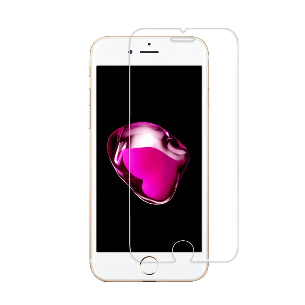 GLASS-M iPhone 6 6S Plus Smart Touch Button Tempered Glass Screen Protector W Smart [Return Key] & [Confirm Key] for Apple iPhone 6 6S Plus (5.5)