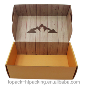 Custom folding shoes packing box, cardboard shoes packing boxes folding paper box