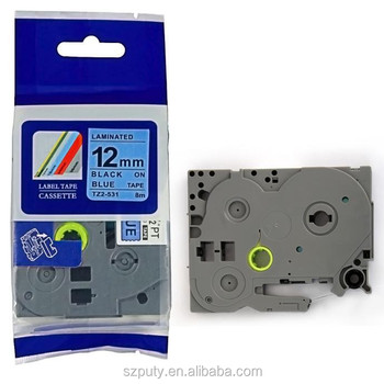 Best Quality Tz-531 12mm For P-touch Printer Tape Casette