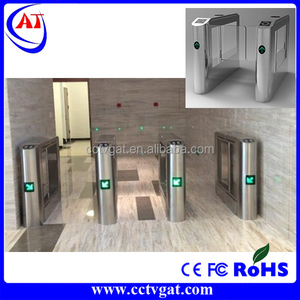 CE approved industrial manufacture economic price rfid access control barrier swing gate